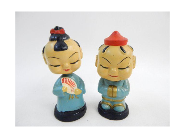 Oriental Composite Bobble Heads