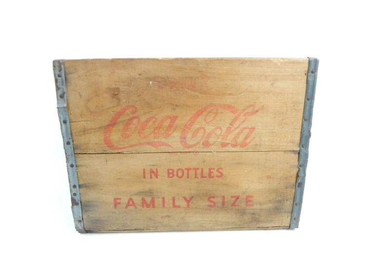 Coca Cola Beverage Crate