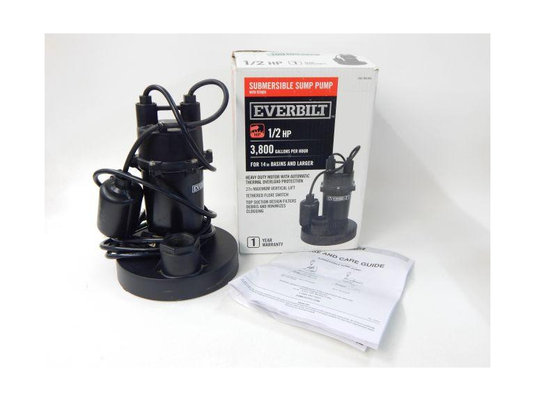 Everbilt Submersible Sump Pump