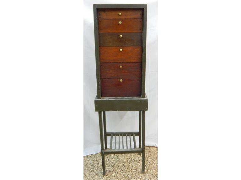 Hand Crafted Wooden Drawered Cabinet