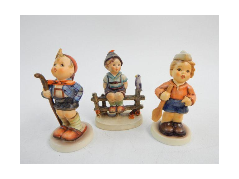 Goebel Hummel Boy Figurines