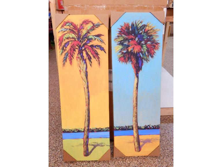 Tropical Prints on Canvas