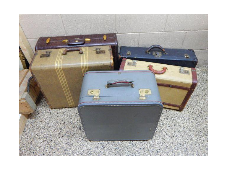 Vintage Hard side Luggage Cases