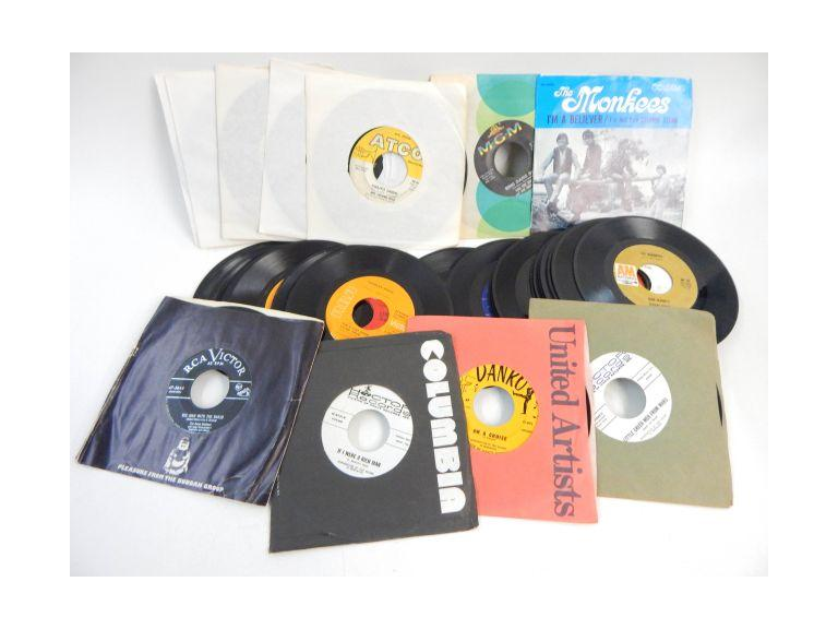 Collection of 45 rpm Records