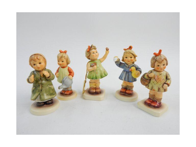 Goebel Hummel Little Girl Figurines