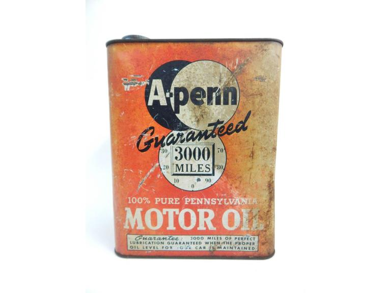 A-Penn Motor Oil Can
