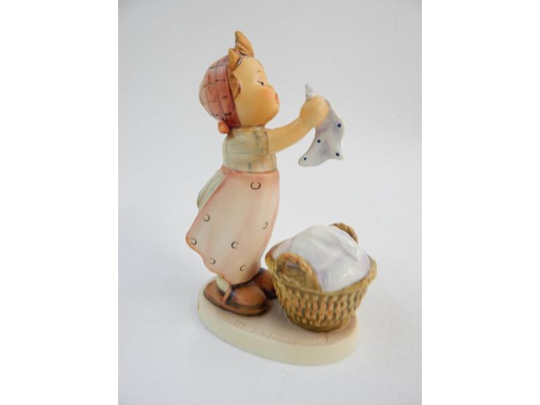 "Goebel Hummel ""Wash Day"" Figurine"
