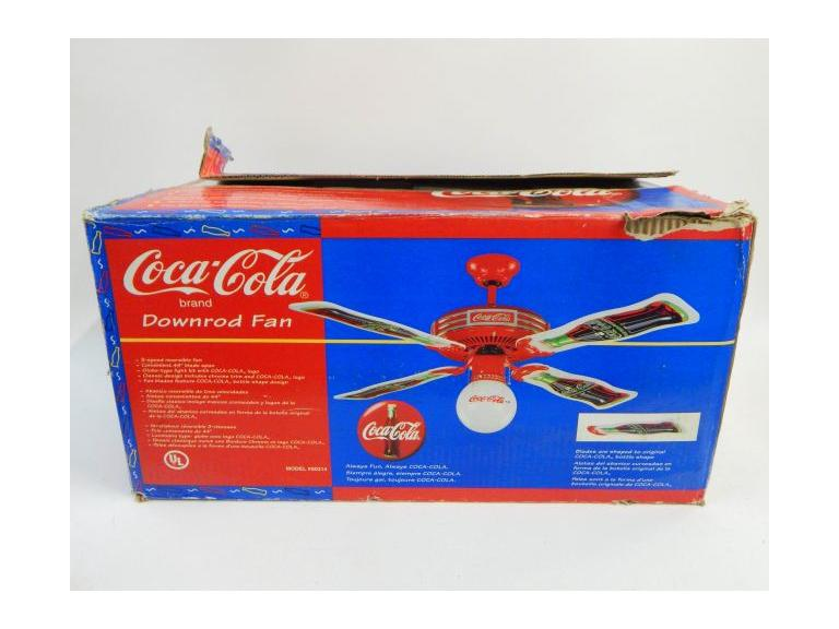 Coca Cola 44'' Ceiling Fan