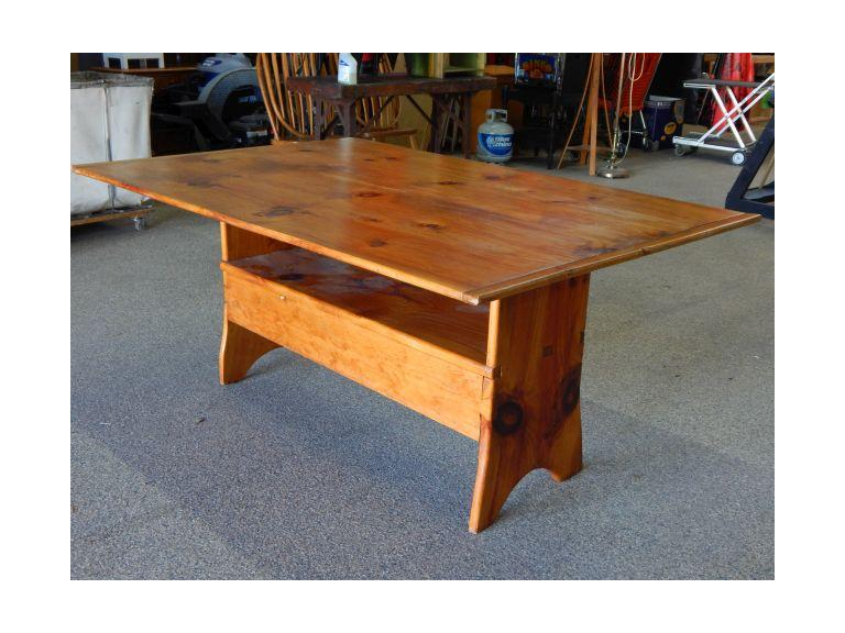 Vintage Flip Top Dining Table