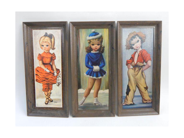 Vintage Framed Wall Prints