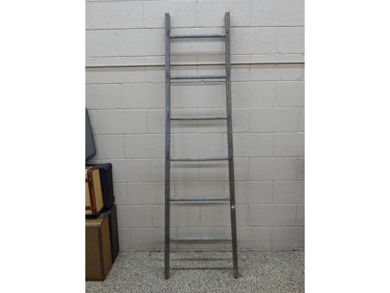Tall Solid Wood Ladder