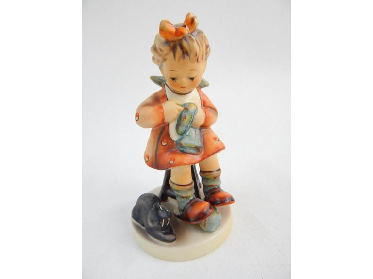 "Goebel Hummel ""Mothers Helper'' Figurine"