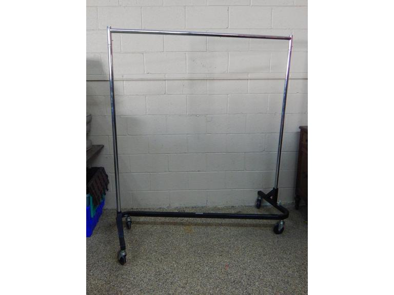 Large Rolling Clothing Rack