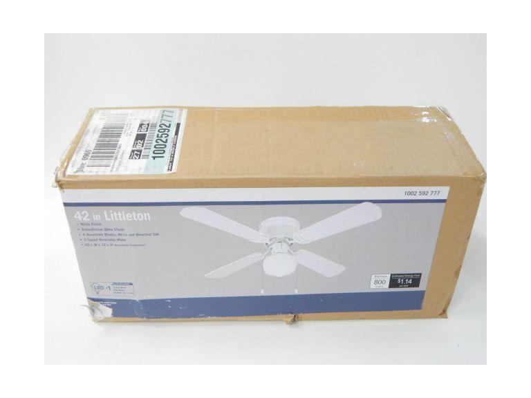 Littleton 42'' Ceiling Fan