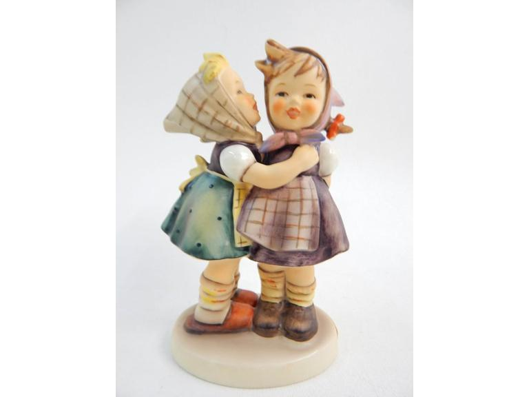 "Goebel Hummel ""Telling Her Secret"" Figurine"
