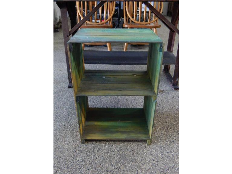 Small wooden Crate Shelf