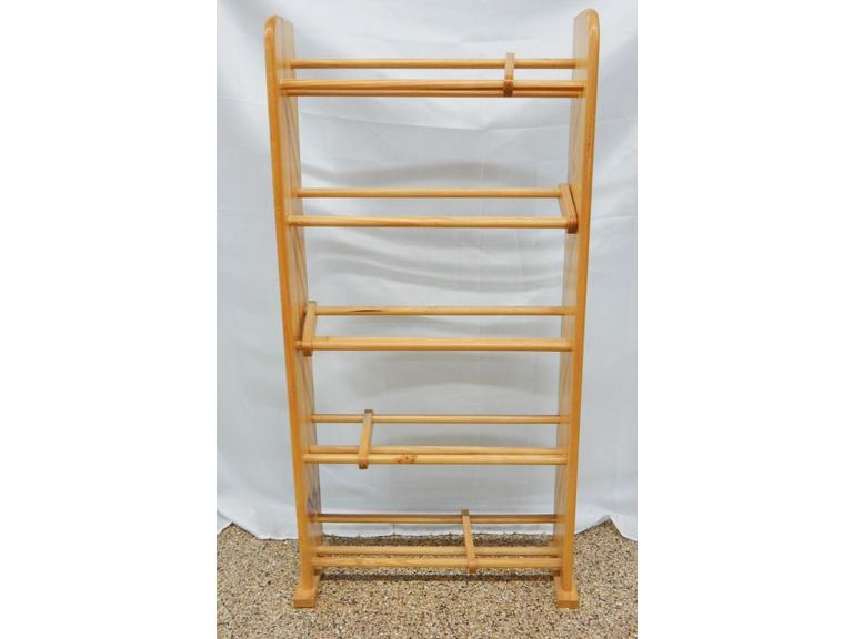 Tall Wooden CD, DVD Rack