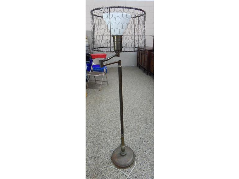 Vintage Swing Arm Floor Lamp