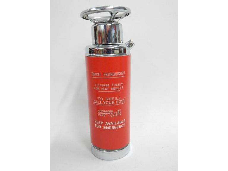 Fire Extinguisher Liquor Decanter