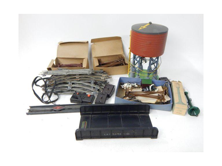 Old Standard Gauge Train Accessories