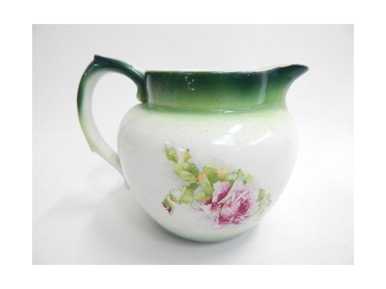 Antique Smith & Phillips Semi-Porcelain Pitcher