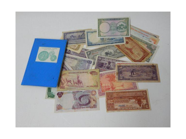 Vietnamese Coins and Paper Money