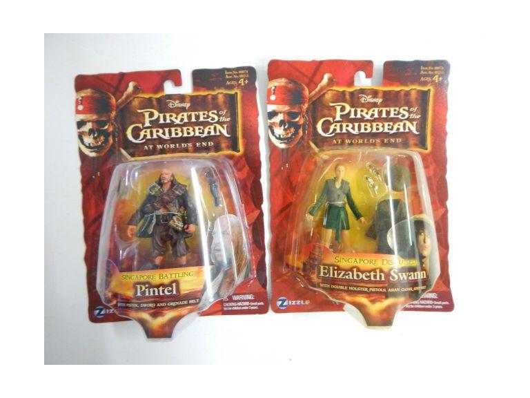 Pirates of the Caribbean Action Figures