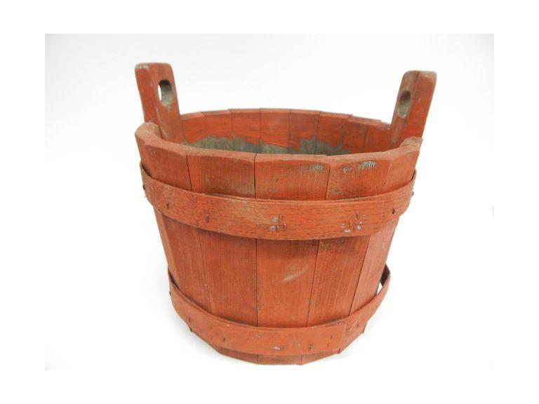 Old Well Style wooden Bucket