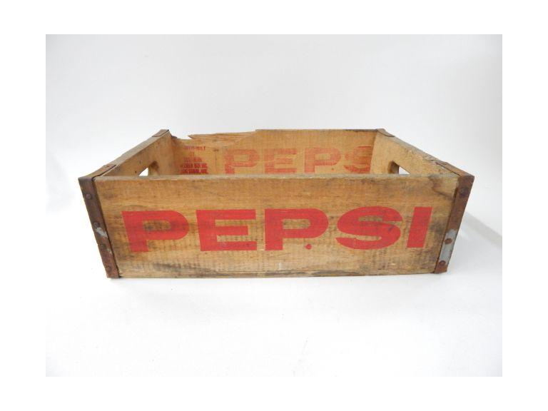 Pepsi Cola Shipping Crate