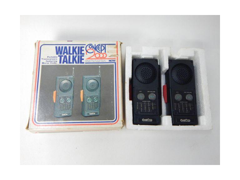 Concept 2000 Walkie Talkies