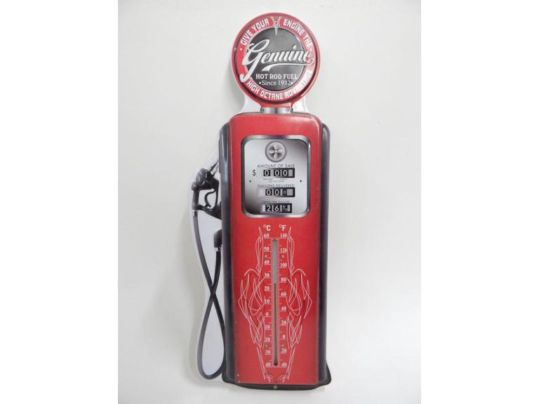 Old Gas Pump Style Wall Thermometer