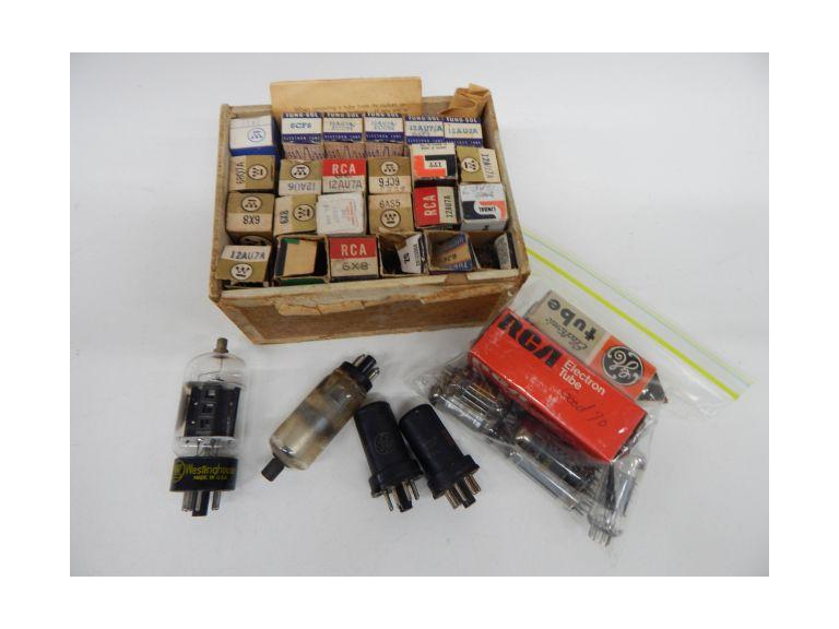 Collection of Radio & Television Vacuum Tubes