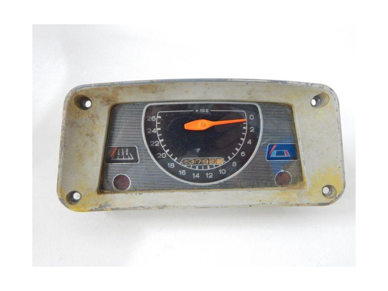 Vintage Automobile Speedometer
