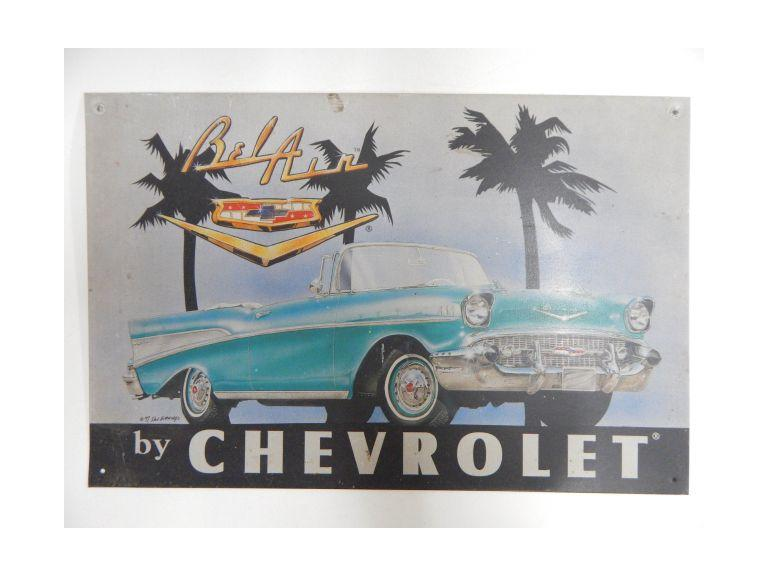 Chevy Be-Air Classic Style Sign