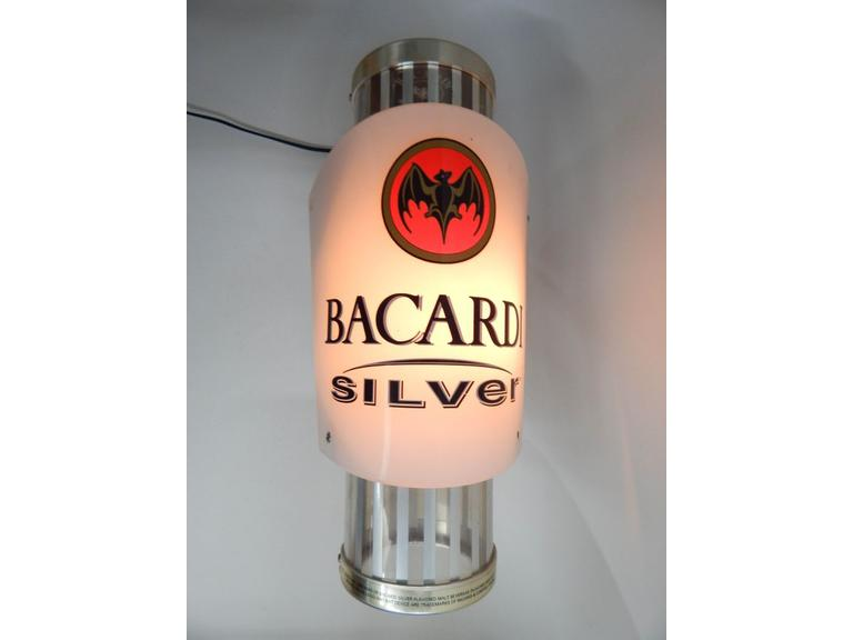 Bacardi Light-Up Wall Sign