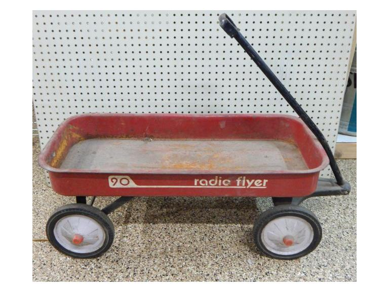 Radio Flyer Metal Wagon