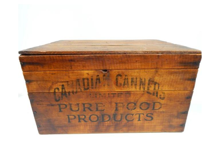 Old Wooden Shipping Crate