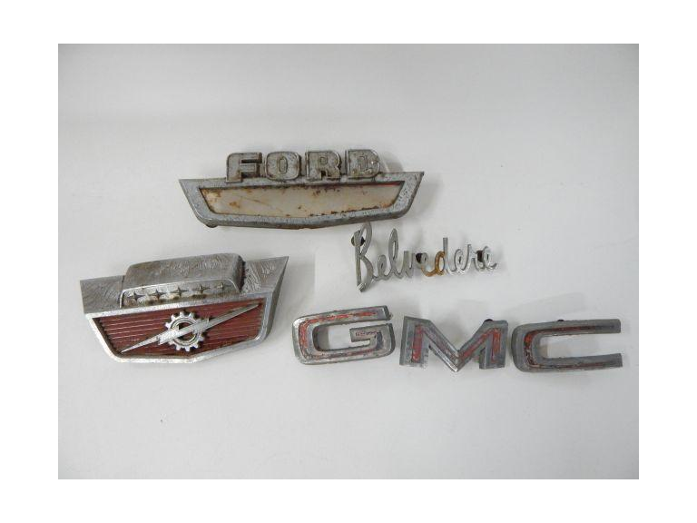 Vintage Car parts and Emblems