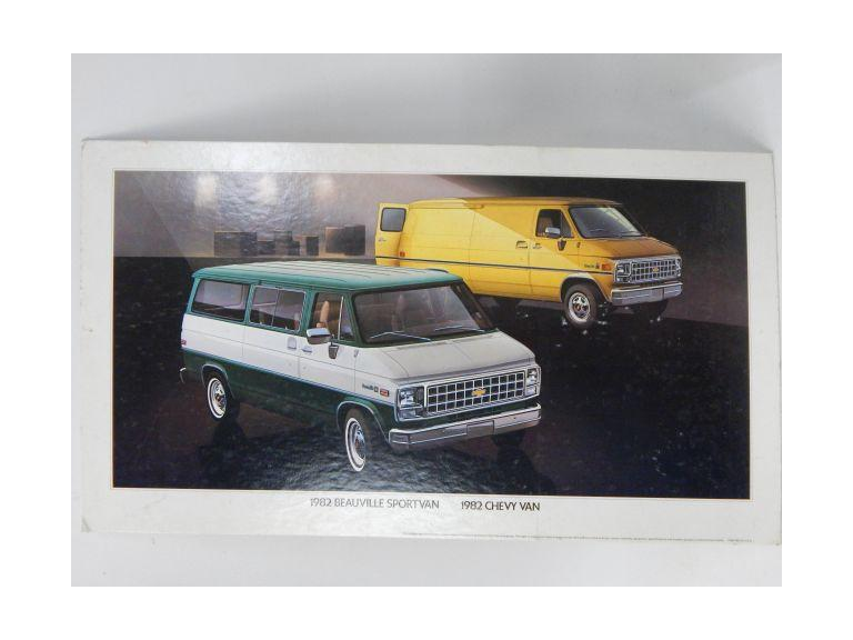 Chevy Van Advertising Sign
