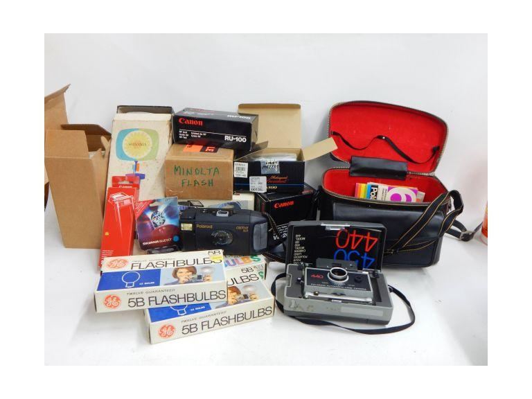 Old Cameras and Accessories