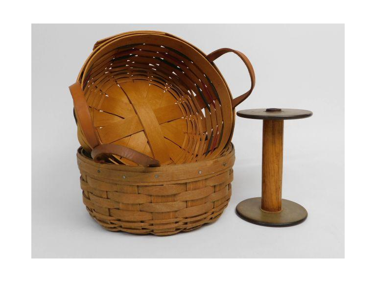Longaberger Baskets and Spool