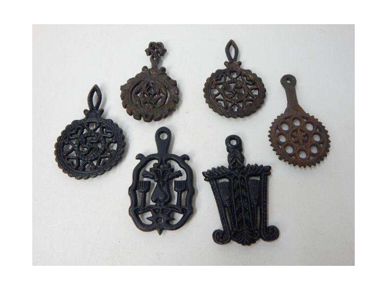 Small Cast Iron Trivets