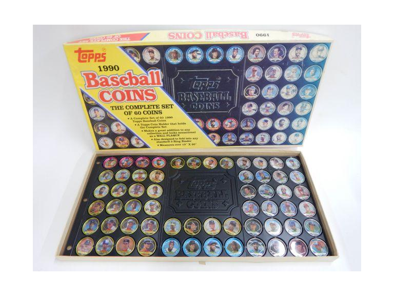 1990 Tops Baseball Coin Set