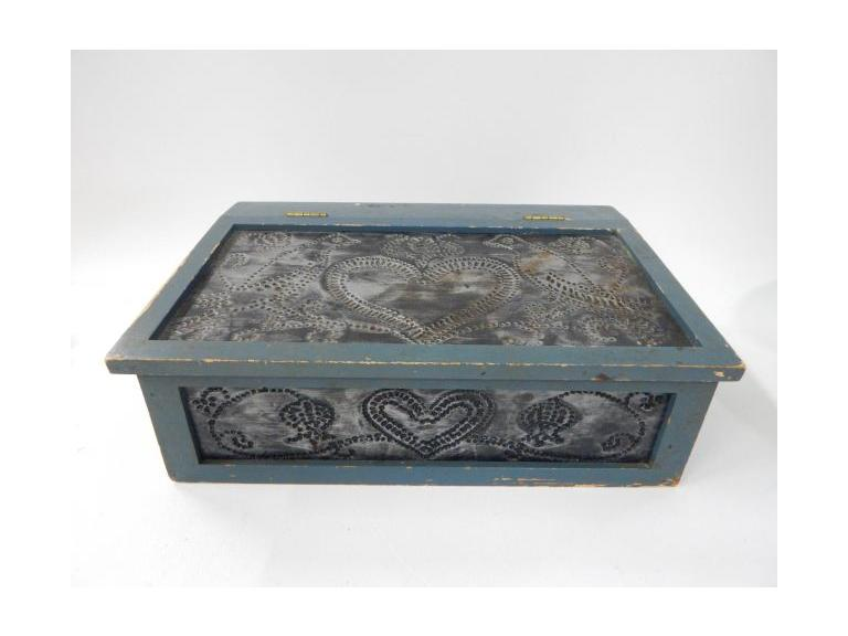 Hinged Lidded Storage Box