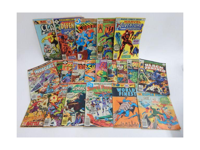 1970's DC & Marvel Comic Books