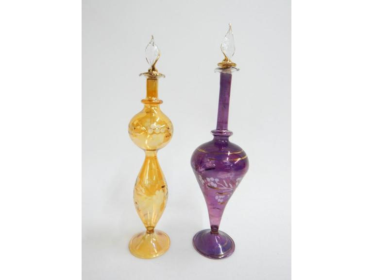 Art Glass Perfume Bottles