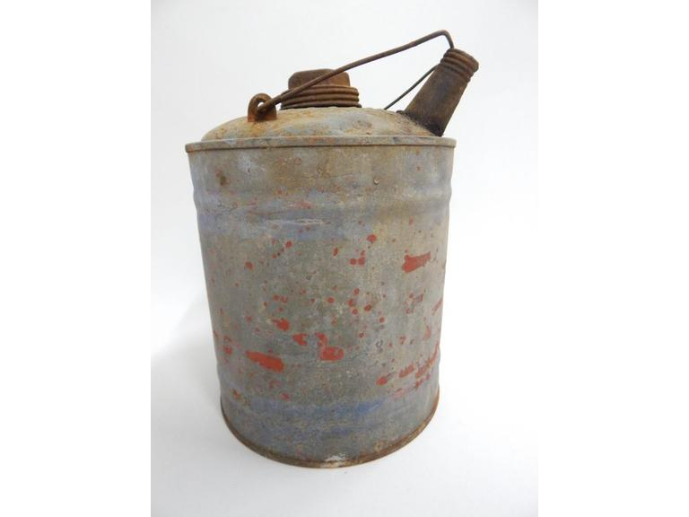 Vintage Metal Fuel Can