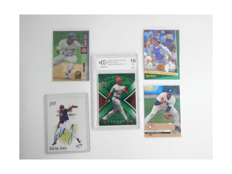 Collection of Modern Baseball Cards