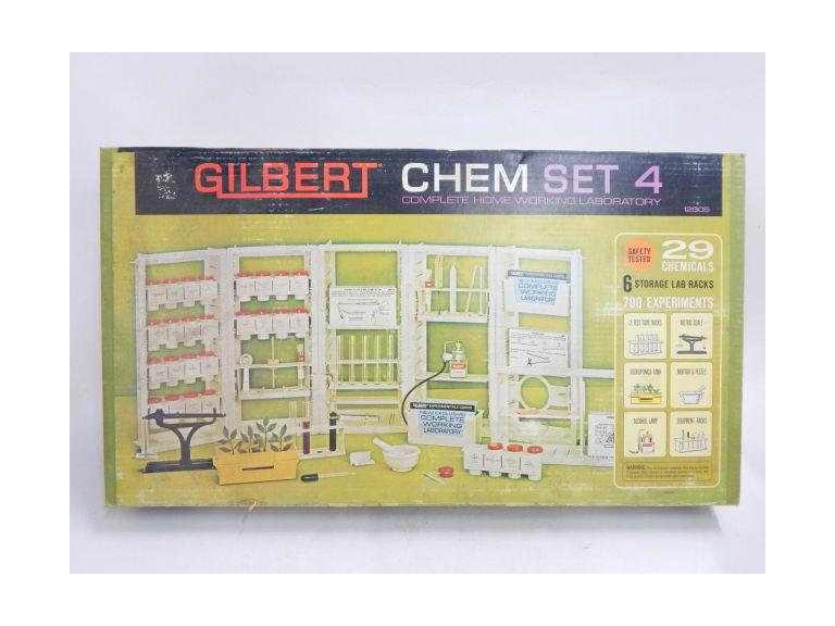 Large Gilbert Chemistry Set