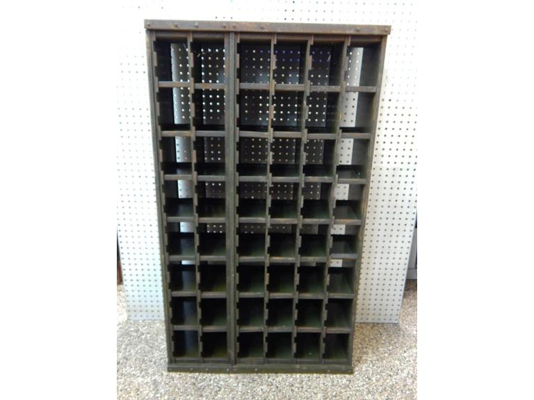 Large Industrial Storage Cubby Unit
